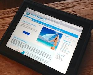 Alles Airco .nl op de iPad