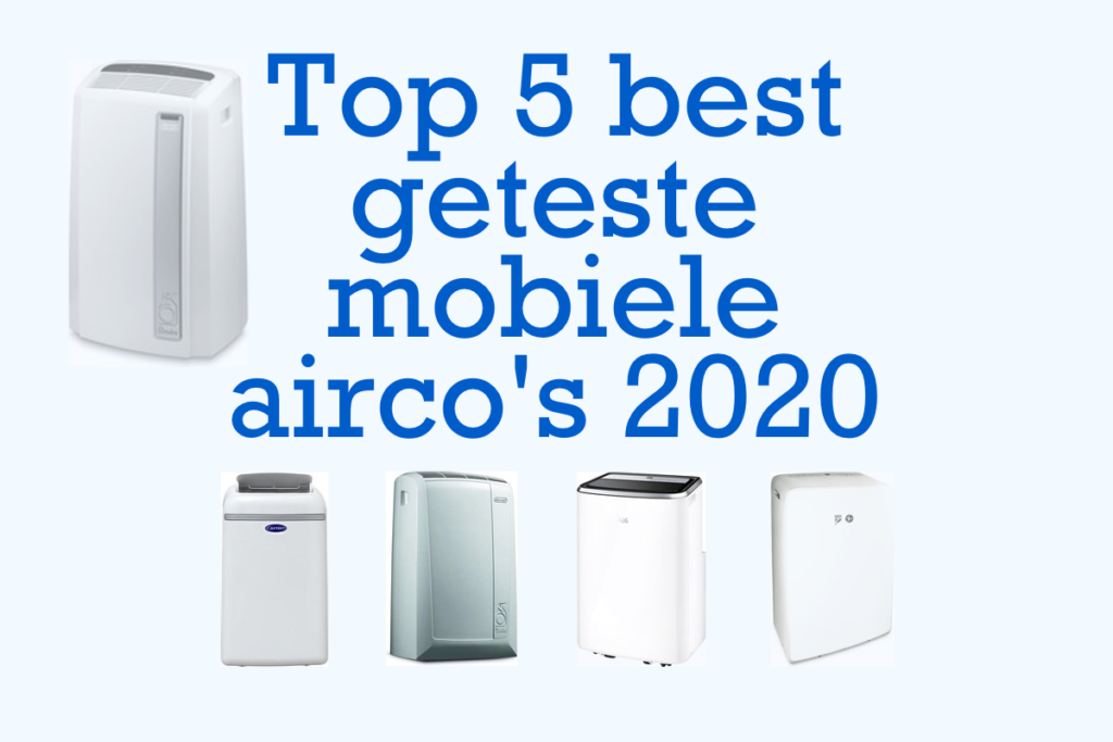 test mobiele airco's 2020
